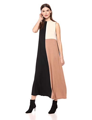 Rachel Pally Women's Tricolor Dress, BLK/Dulce/CRM CB, S