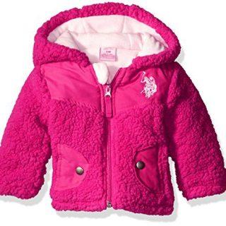 U.S. Polo Assn. Baby Girls' Whubby Shell Jacket