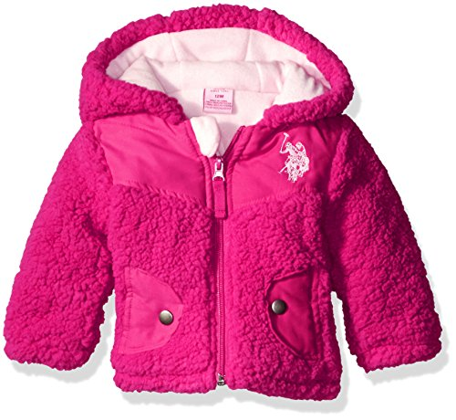 U.S. Polo Assn. Baby Girls' Whubby Shell Jacket