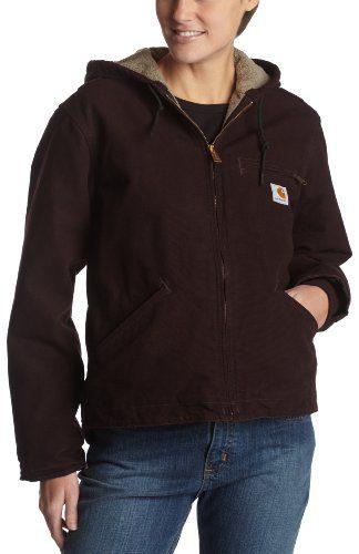 Carhartt Women's Sherpa Lined Sandstone Sierra Jacket