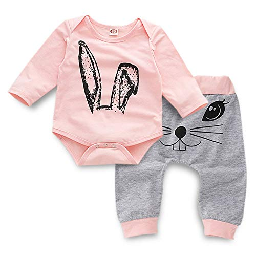 2 PC Newborn Baby Boys Girls Clothes Layette Sets