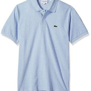 Lacoste Mens Classic Chine Pique Polo Shirt, Lutea
