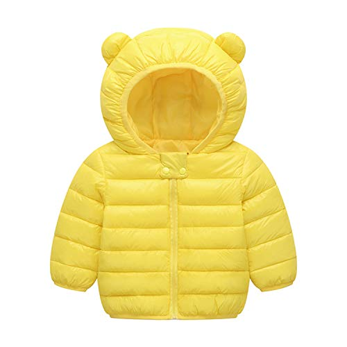 BSC007 Baby Boys Girls Winter Coats Hoods Light Puffer Down Jacket
