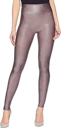 SPANX Women's Faux Leather Leggings Antique Rose