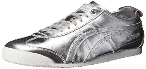 first rate aed0c ca3ba Onitsuka Tiger Mexico 66 Fashion Sneaker, Silver/Silver Clout Wear Fashion  for Womens, Fashion for Mens, Fashion for Kids