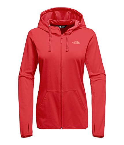 The North Face Women's Fave Lite LFC Full Zip Hoodie Juicy Red