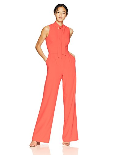 Black Halo Women's Carolina Jumpsuit, Canyon Coral