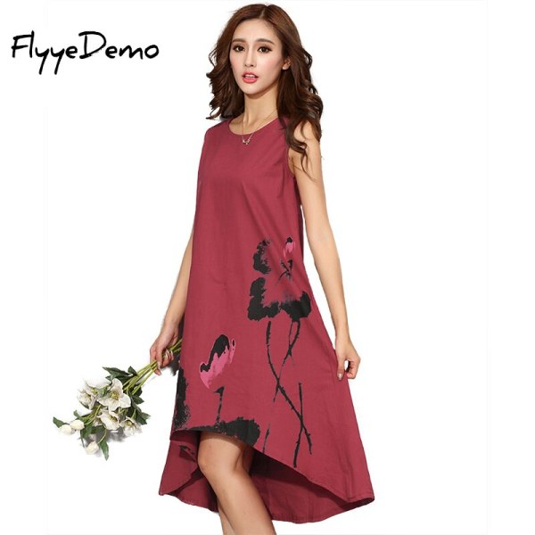 M - 6XL Summer Dress New Vestido Casual Dresses Women