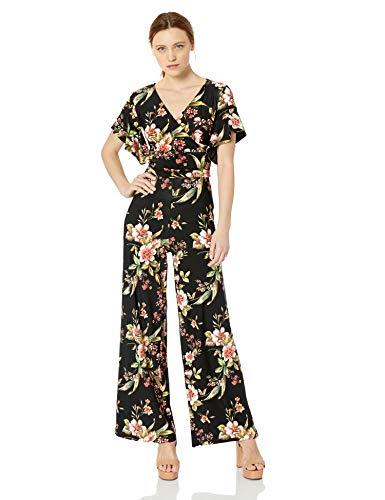RACHEL Rachel Roy Women's Printed Capri Jumpsuit