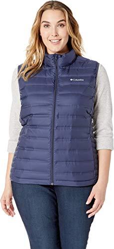 Columbia Women's Plus Size Lake 22¿ Vest Nocturnal 2X