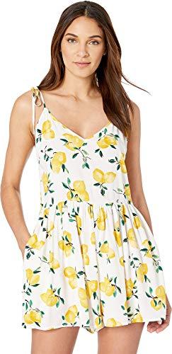 Kate Spade New York Women's Lemon Beach Romper