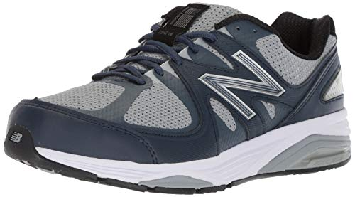 New Balance Men's Running Shoe, Grey/Navy
