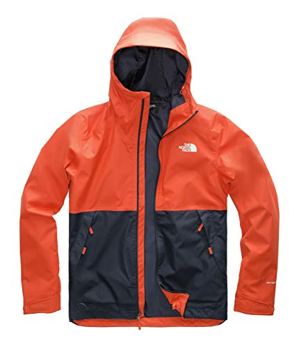 The North Face Men's Millerton Jacket Zion Orange/Urban Navy Large