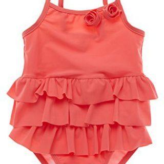 ALove Baby Girl's One Piece Ruffle Swimsuit Cute Swimwear
