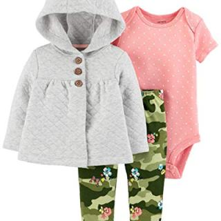 Carter's Baby Girls 3-Piece Cardigan Set