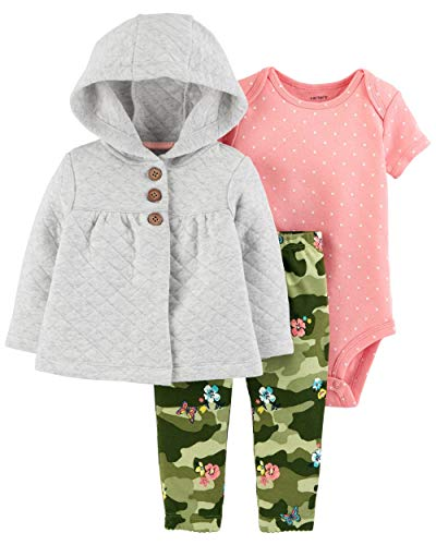 Carter's Baby Girls 3-Piece Cardigan Set
