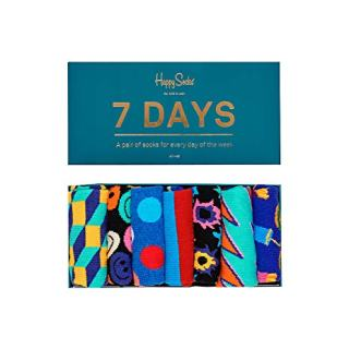 Happy Socks Unisex 7 Days Of The Week Gift Box Set