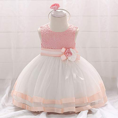 Jup'Elle Little Baby Girl Dress Flower Ruffles Party Wedding