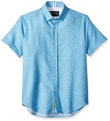 Robert Graham Men's Liam Short Sleeve Slim FIT Shirt
