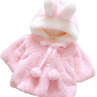 Baby Girl Fur Winter Warm Coat Cloak Jacket Thick Warm Clothes