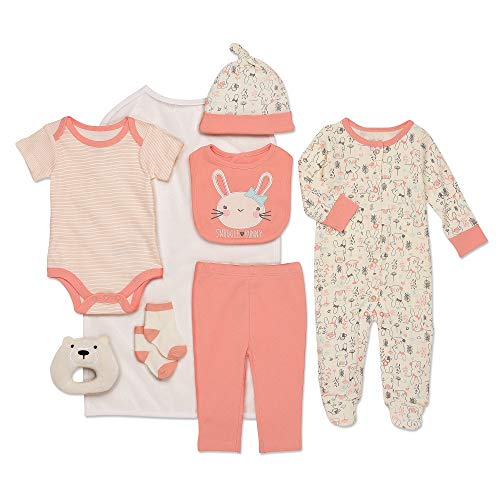 Mini B. by Baby Starters 9-Piece Snuggle Bunny Layette Gift Set