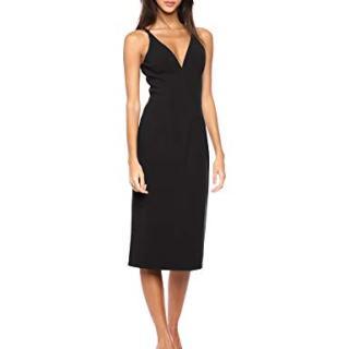 Dress the Population Women's Lyla Plunging Sleeveless