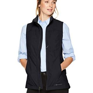 ExOfficio Women's FlyQ Lite Vest, Black, Small