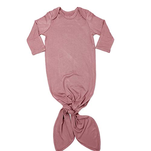 Posh Peanut Baby Gown Soft Bamboo Girl's Layette Comfortable Newborn