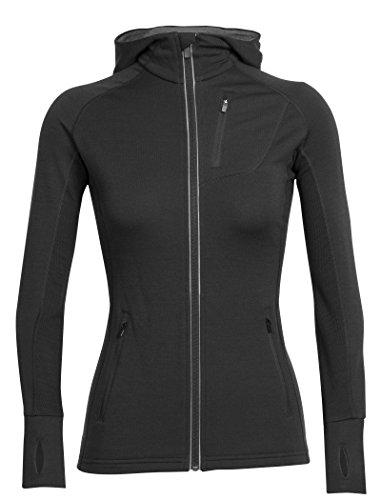Icebreaker Merino Women's Quantum Long Sleeve Zip Hood