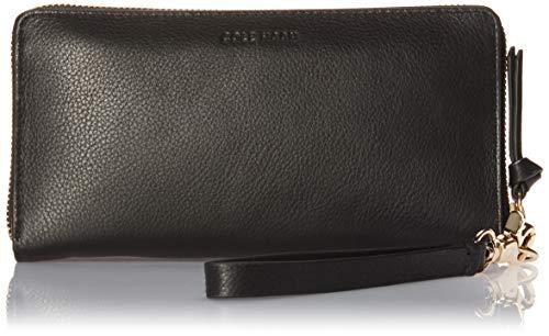 Cole Haan Piper Zip Around Wallet Wristlet, black
