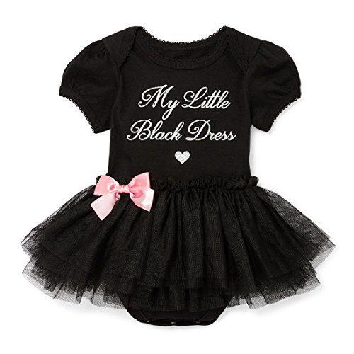 The Children's Place Baby Girls' Short Sleeve Tutu Bodysuit