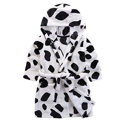 Baby Boy Girl Animal Bathrobe Infant Hooded Robe