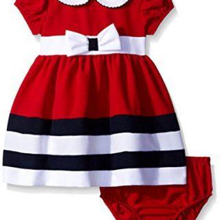 Bonnie Baby Baby Peter Pan Collar Nautical Dress and Panty Set