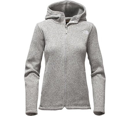 The North Face Crescent Full Zip Hoodie Women's Lunar Ice Grey