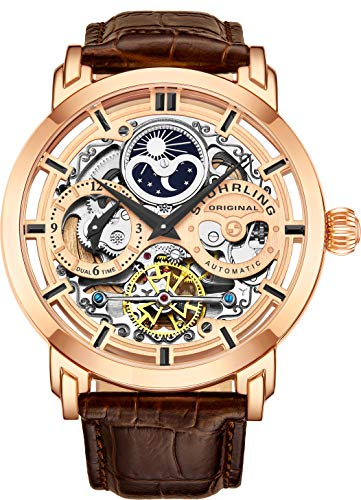 Stuhrling Original Mens Automatic-Self-Wind Luxury Dress