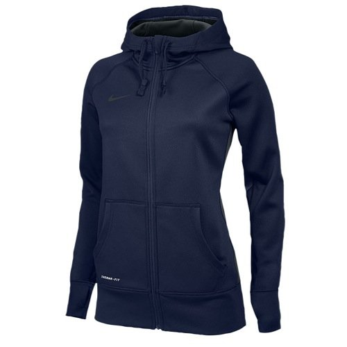 Nike Womens Full Zip KO Hoody - Navy - Small