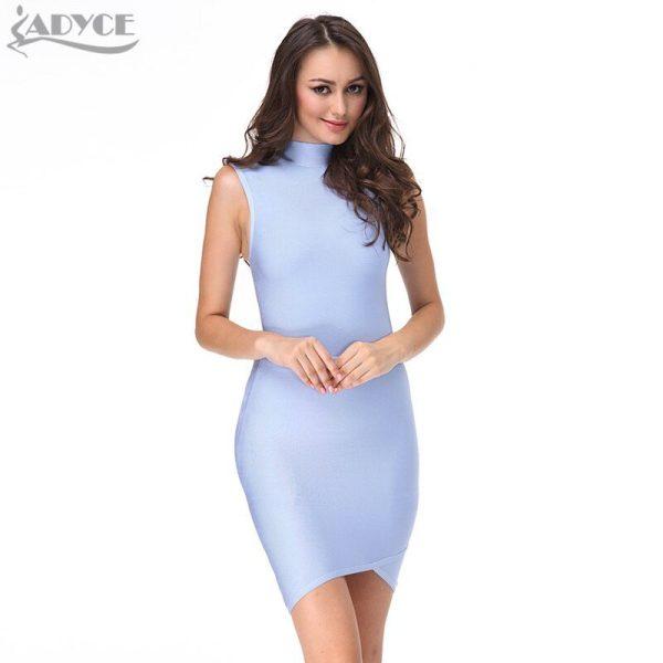 19 new fashion Summer Dress women Runway Bandage Dresses