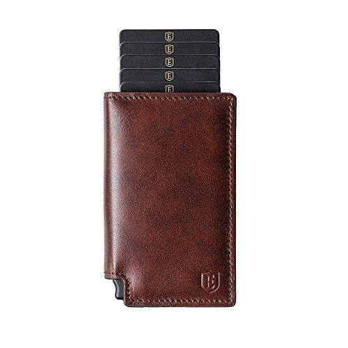 Ekster: Parliament Slim Leather Wallet- RFID Blocking
