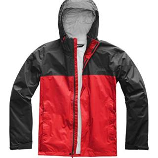 The North Face Venture 2 Jacket - Men's Fiery Red/Asphalt Grey