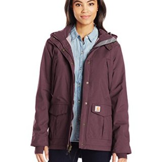 Carhartt Women's Shoreline Jacket, Deep Wine