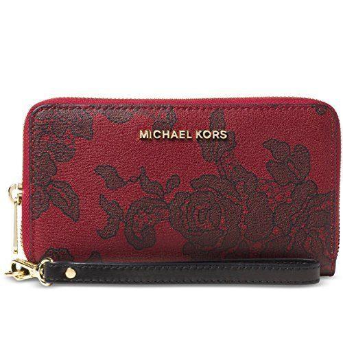 MICHAEL Michael Kors Womens Jet Set Faux Leather