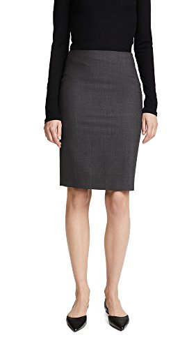 Theory Women's Edition Pencil Skirt, Charcoal