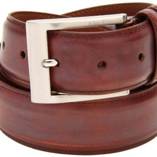 Allen Edmonds Men's Basic Wide Dress Belt,Chili
