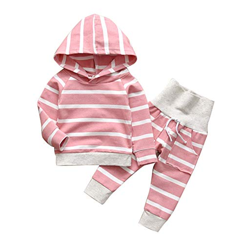 Baby Girl 3 6 12 18 Months Outfit Pink Long Sleeve Sweater