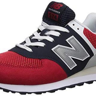 New Balance Men's Iconic Sneaker, Team red/Pigment