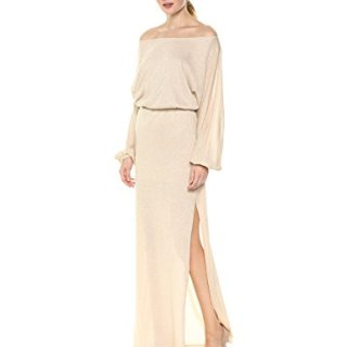 Rachel Pally Women's Seaton Sweater Dress, Natural/Gold L