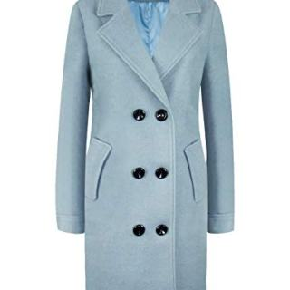 APTRO Women's Winter Double Breasted Wool Coat