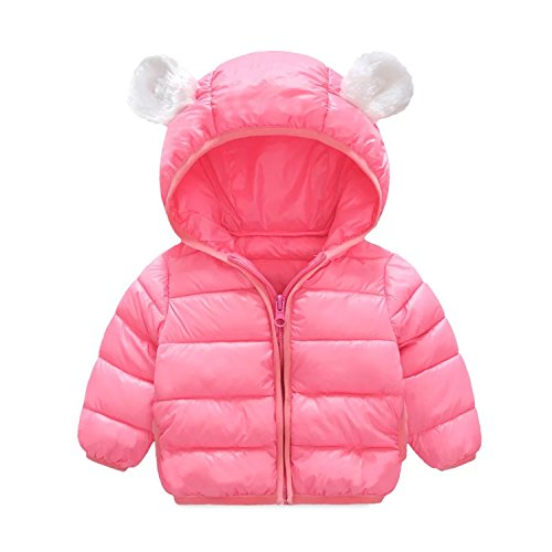 Infant and Toddler Baby Boys Girls Winter Warm Cotton Puffer Cartoon Coats