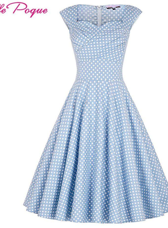 Belle Poque Summer Dress Women Elegant Tunic Casual