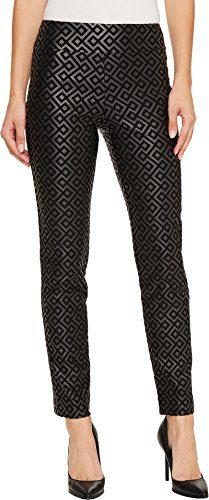 Krazy Larry Women's Pull-On Ankle Pants Black